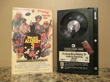 Police Academy 3: Back In Training Beta Betamax Video Cassette Tape