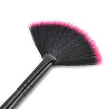 Fashion Fan Shape Makeup Cosmetic Brush Blending Highlighter Contour Face Powder