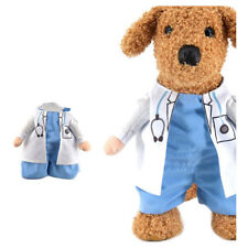Halloween pet cat dog doctor costume cosplay small medium dog puppy party j E6E6