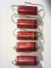 2x Erofol/Ero Kt1800 0.047uF/1000V/10% Roederstein capacitors Hi End Audio