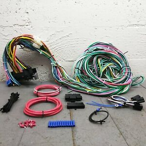 1980 - 1988 Ford Truck Wire Harness Upgrade Kit fits painless circuit new fuse