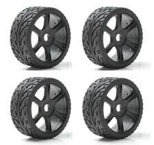 4 ruedas con llanta Rally 1 8 Hobbytech