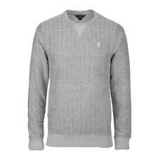 Volcom Static Stone crew Pullover Grey - Men's Crew Neck Sweatshirt Gray