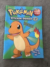 Vintage 1998 Pokemon Sticker Book