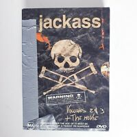 Jackass Volume 2 + 3 + Movie 3 x DVD Region 4 AUS Free Postage - Comedy Action