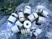 Antique Salvage Porcelain Electric Fence Insulators set of 12