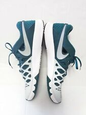 Preowned Nike Eagles shoes sz US 14 Men's  green /silver