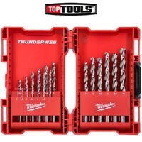 Milwaukee 4932352374 Thunderweb 19 Piece HSS-G Ground Metal Drill Bit Set