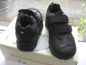 Start-rite  Boys Rip-tape School Shoe AQUA RAIN Size 9.5F At Sale £25.