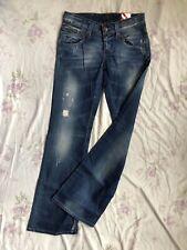 ONLY Auto Low BC Damen Blue Jeans Stretch W29/L34 x-low waist slim fit flare leg
