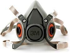 3M 6200 Half Face Piece Reusable Respirator (Size: Medium)