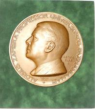 Hungary PROFESSOR ALOISIUS ZAMBA huge bronze artist's model 6 1/2 ins by Vincze