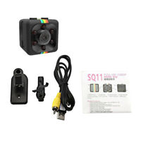 Sq11 Mini Caméra Hd 1080 P Night-Vision Caméscope Voiture Dvr Enregistreur F5N9