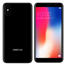 Barato Móviles Libre 1GB+16GB Negro 3G Red 2xSIM Android Smartphone Doogee X55