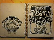 Repair Manual VW Käfer Bus für den Autotrottel, orig. US Ausgabe 1977, Jon Muir
