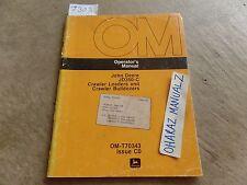 John Deere JD350-C Crawler Loader & Bulldozer Operator's Manual OM-T70343