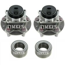 NEW Front and Rear Wheel Bearings & Hubs Kit Timken For Mazda RX-8 RWD 2004-2007