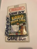 🤩 kirby's dream land neuf blister rigide gameboy Factory Sealed Pal Fr fah gb