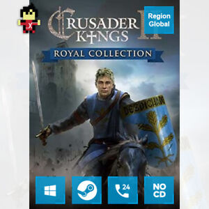Crusader Kings II 2 Royal Collection for PC Game Steam Key Region Free