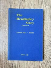 More details for ' the headingley story 1890 - 1955 volume 1 rugby' - ken dalby rugby league book