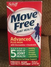 Move Free Glucosamine Chondroitin MSM and Hyaluronic Acid Joint Supplement 120