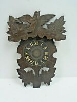 """Wooden Frame for Front of a Novelty Cuckoo Clock  3 1/2"""" Wide by 7"""" Long"""