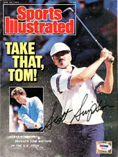 Scott Simpson Authentic Autographed Signed Magazine Cover PSA/DNA COA T43526