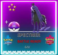 Pokemon Sword & Shield ⚔️ LEGENDARY SPECTRIER 🔥6IV BRAND NEW! CROWN TUNDRA DLC!