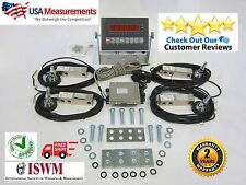 Load Cell Floor Scale Kit Platform Livestock Scale Truck Scale Kit 10,000 lb