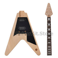 GTS Flying V DIY Electric guitar kit / DIY guitar (GTSFV-074-BN, no hardware)