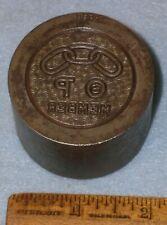 1935 ODD FELLOWS THETA RHO MEMBER Medal Stamping Die MC LILLEY