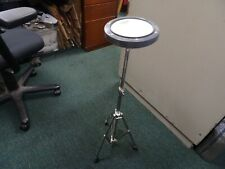 """Remo 8"""" Practice Drum Pad and Adjustable Remo Stand Used One Time"""
