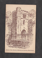 c1920s Illustrated View of All Hallows Staining Church, Mark Lane, London
