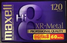 Maxell Hi 8 XR-Metal 120 camcorder tape New In Factory Packaging