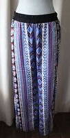 MATTY M WOMEN'S SUMMER PRINTED WIDE PANTS SIZE SMALL