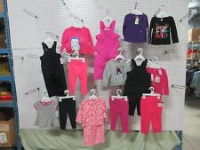 14 Girls Outfit Clothing Long Sleeve Tops Bottoms Shirt Infant Toddler 18 Lot