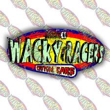 WACKY RACERS FUN ADHESIVE STICKER T4, vw, surf, hot rod, race, VINTAGE NEW!