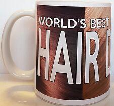 WORLD'S BEST HAIRDRESSER MUG 11oz Ceramic Mug Dishwasher and Microwave Proof