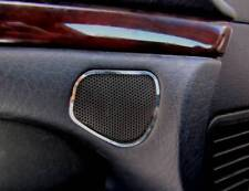 D Audi A8 D2 Chrom Rahmen für Lautsprecher Tür oben - Edelstahl poliert