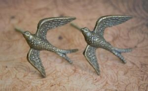 Iron Bird Cabinet Knob   Antique Look Bronzed Decorative Metal Cupboard Handle