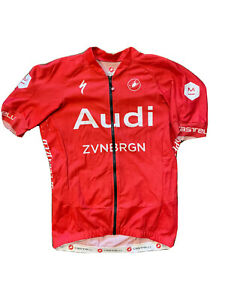 Castelli Aero Race 5.0 Jersey, Audi Cycling Team Medium
