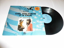 MILLI VANILLI - Girl You Know It's True (N Y Subway Mix) - 1988 UK 3-track 12''