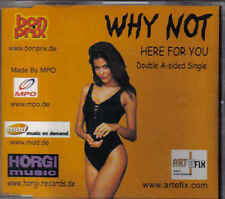 Why Not-Here For You cd maxi single