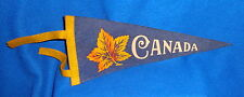 Vintage Canada Felt Pennant Great Condition
