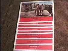 SHANE LOBBY CARD SET R66 ALAN LADD CLASSIC