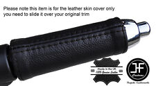 BLACK STITCH HANDBRAKE HANDLE LEATHER COVER FITS BMW MINI COOPER F55 F56 14-16