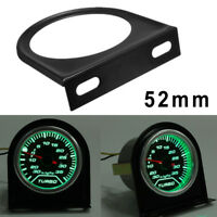 1x Universal Black One Hole Gauge Meter Holder 5.3cm Durable Practical Useful
