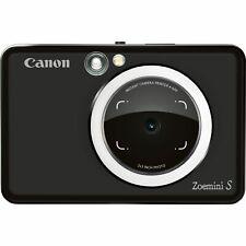 Canon Zoemini S Bolsillo cámara instantánea-Negro Mate