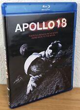 APOLLO 18 (Blu-Ray, 2011) Region A ~ FLAWLESS UNUSED CONDITION!!