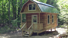 4 Acres NY Land Log Cabin - Lot #7 FINANCING NO RESERVE PA Woods - HUNT FISH